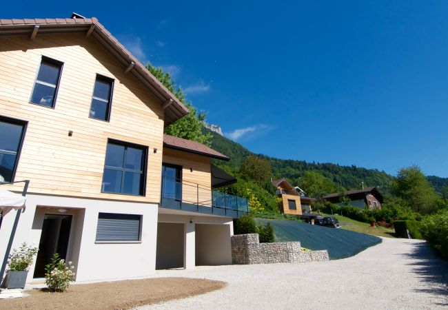 Maison à Bluffy - BLUFFY MAISON CONTEMPORAINE - Vue lac