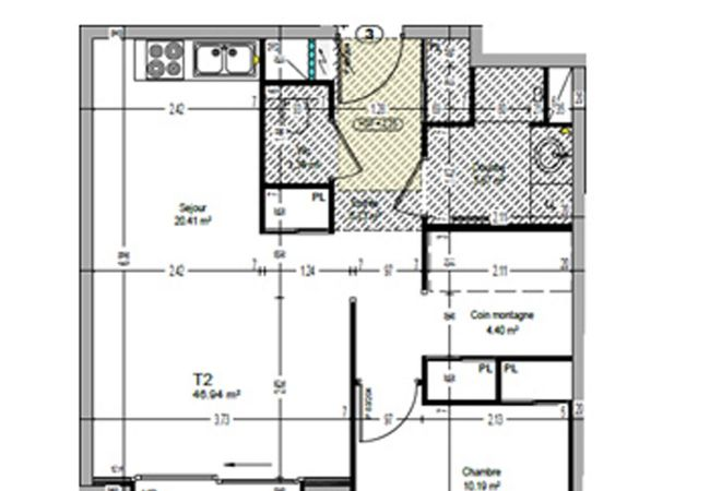 Appartement à La Clusaz - Résidence LES CIMES *****T2-4/6pers.