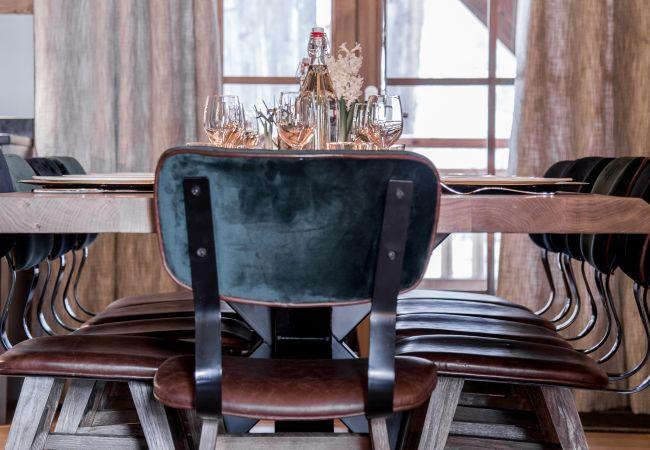 Chalet à La Clusaz - Le Chalet du Bossonnet 5* côté Confins