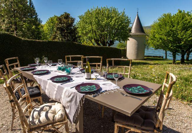 Villa à Veyrier-du-Lac - Veyrier du Lac, la Tour les Pieds dans l'eau