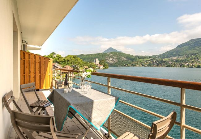 Appartement à Duingt - Les LIBELLULES - Appartement posé sur le lac.