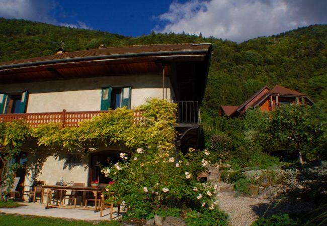 House in Talloires - Talloires - Bucolique cottage rénové jolie Vue lac