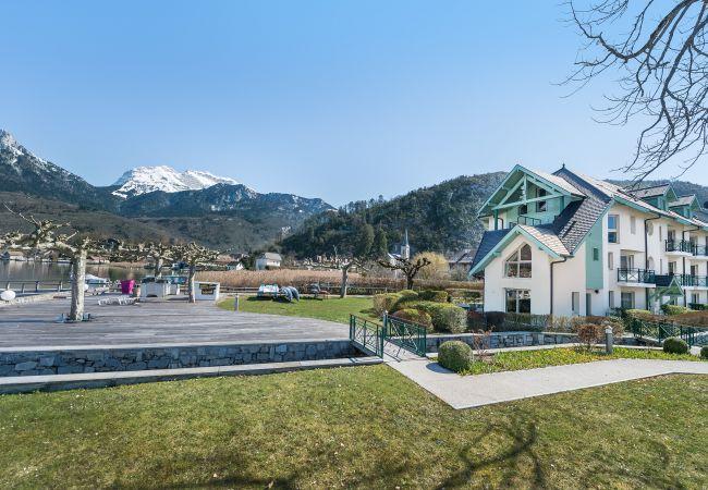 Apartment in Duingt - BAIE DES VOILES - #2 rez de jardin, 1ch. accès lac
