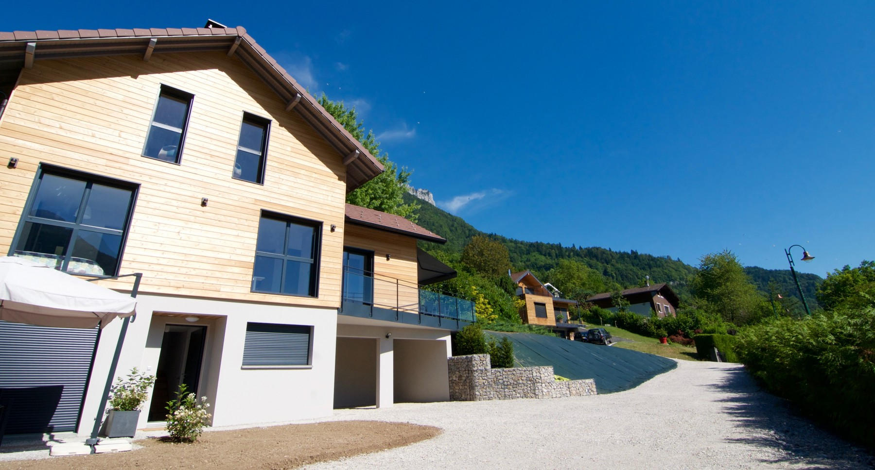 BLUFFY MAISON CONTEMPORAINE - Vue lac