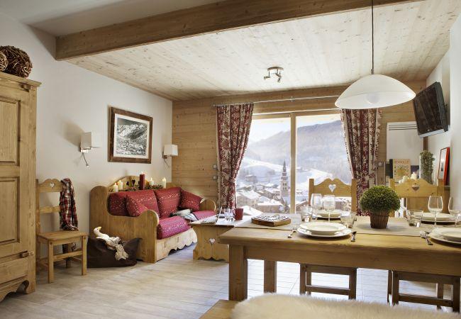 Apartment in La Clusaz - CLZ-Spacieux appartement 4*centre village avec spa