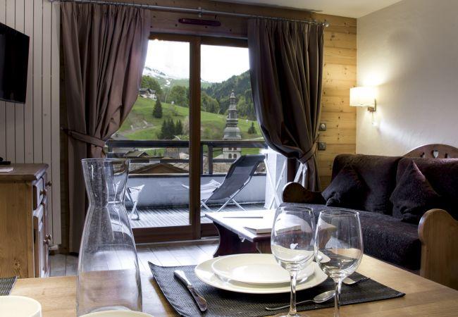 Apartment in La Clusaz - CLZ- Unique appartement 4* centre village avec spa